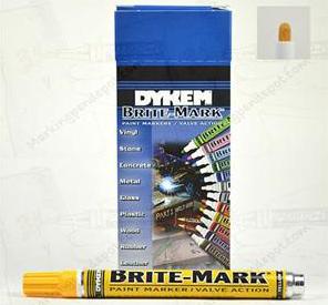 Dykem Brite Mark Medium Tip Paint
