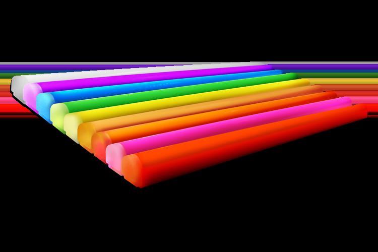 Large-profile LED tubing