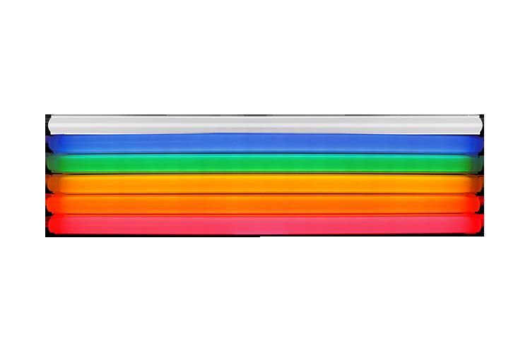 Neon-inspired tubing