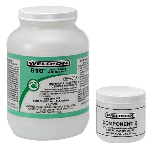 810 (A & B) Kit VOC reactive adhesive