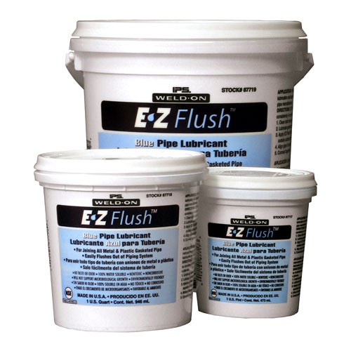 EZ Flush Pipe Lubricant