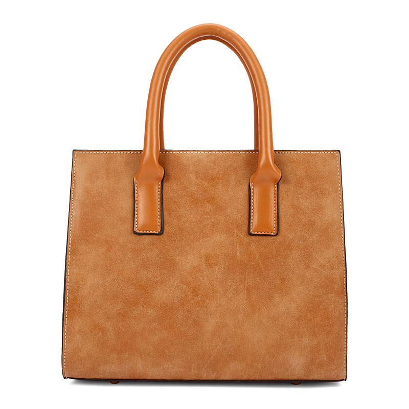 New Handbag Retro Matte Leather Messenger Bag