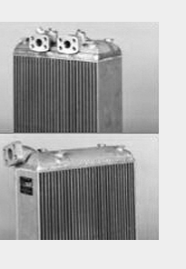 Military vehicle oil coolers
