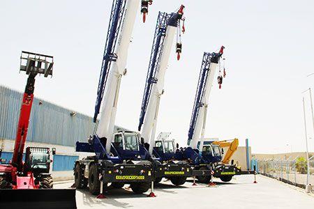 Mobile Crane, Crawler Crane