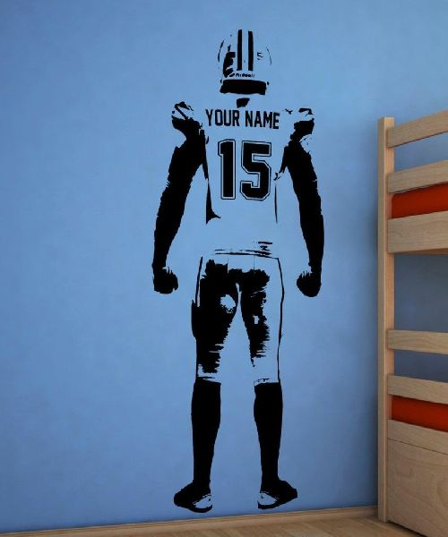 American Football Player Wall Art