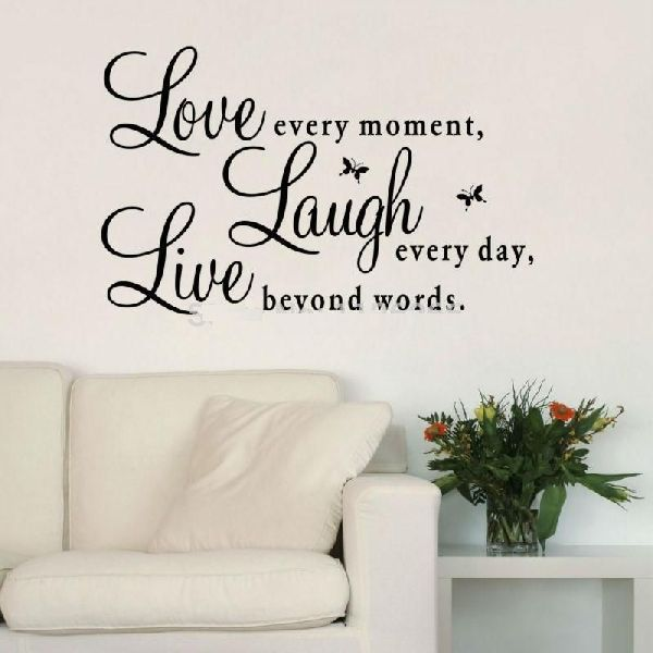 Home Blessing Quote Wall Stickers