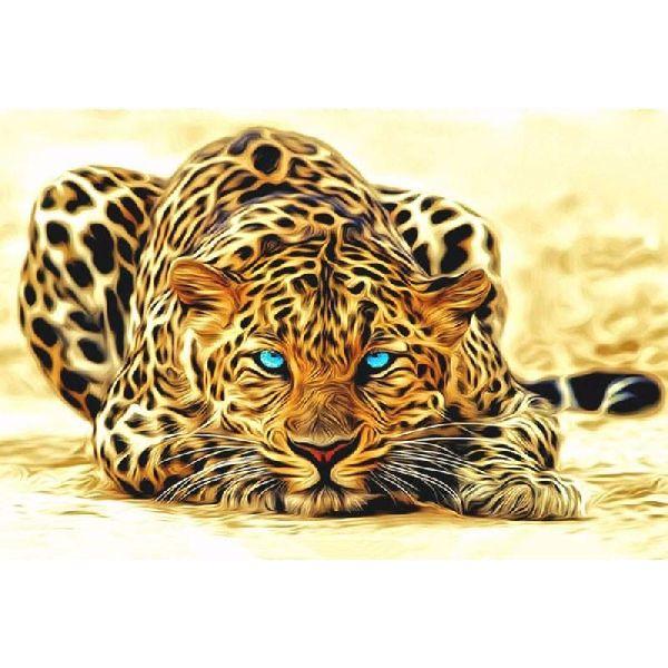 Leopard  DIY Painting Acrylic Wall Art