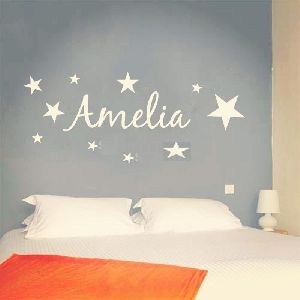 Personalized Name Vinyl Wall Sticker