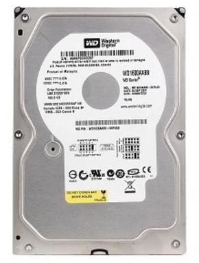 ATA IDE 160GB 7200RPM WESTERN DIGITAL WD1600AABB