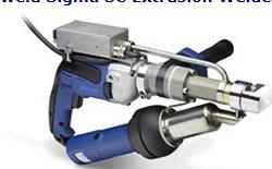 Exweld Sigma SC Extrusion Welder