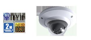 2Megapixel Full HD Vandal-proof Dome Camera
