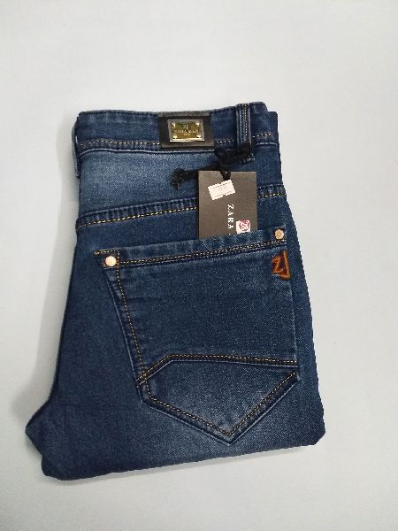 Mens Zara Blue Jeans Manufacturer in Delhi India by
