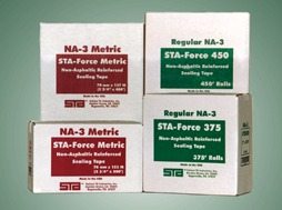 Non-Asphaltic 3-Way Reinforced Water Activated Tape