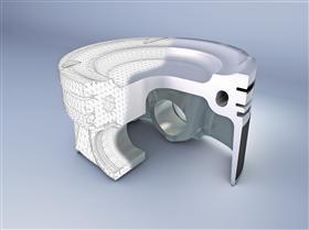 Elastothermic Piston
