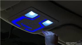 Touch-Free Interior Lighting