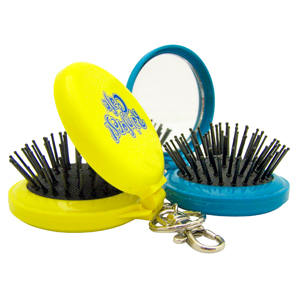Pop-up Brush Keychain
