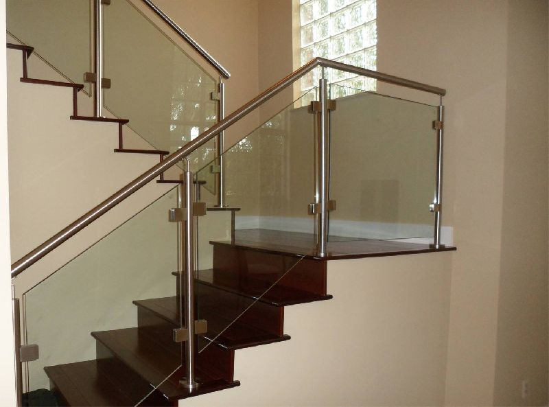 Staircase Railing Glass Manufacturer In Uttar Pradesh India By Won S