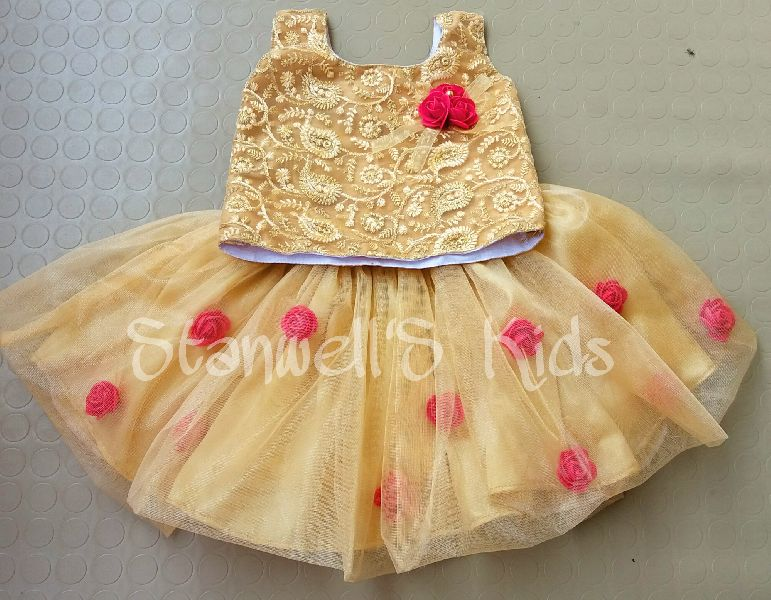 Kids skirt and top (BL021)