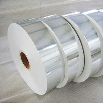 Silver Laminated White Paper Rolls