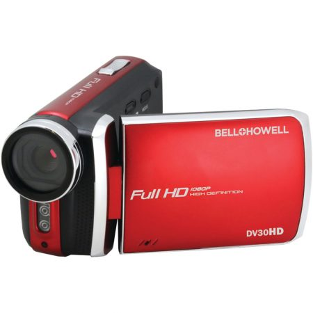 DV30HD-R Bell & Howell Video Camcorder