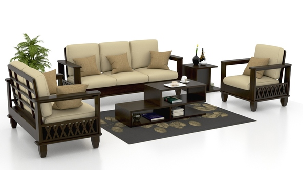 Wooden Sofa Set Manufacturer In Karnataka India By A To Z