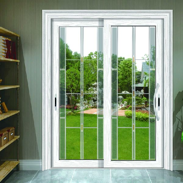 Pearl White Aluminum Interior Door 90 Sliding Door Manufacturer In