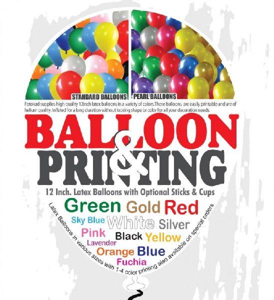 balloon printing services