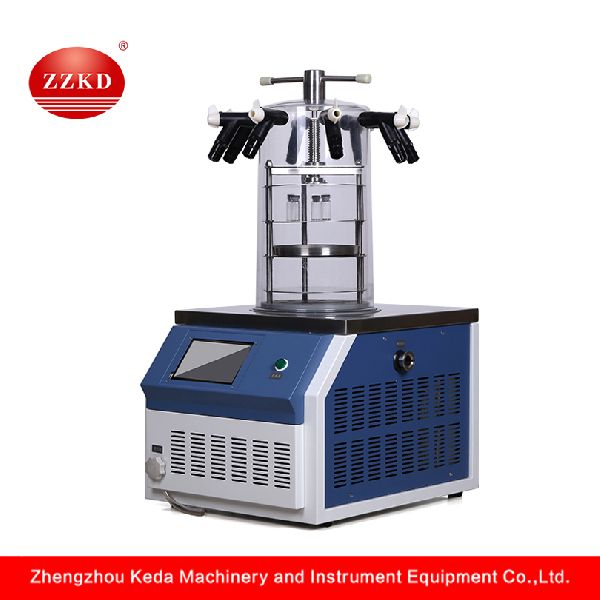 Lab Vacuum Mini Freeze Dryer Lyophilizer Vial Manufacturer