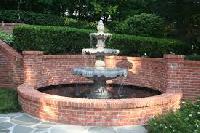 granite marble fountain