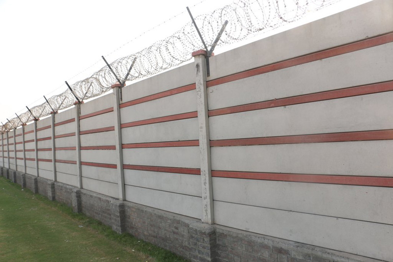 Prefabricated Compound Wall : Precast boundary wall manufacturer in newai rajasthan