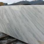 plain white marble