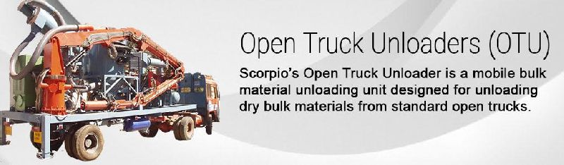 OPEN TRUCK UNLOADING MACHINERY