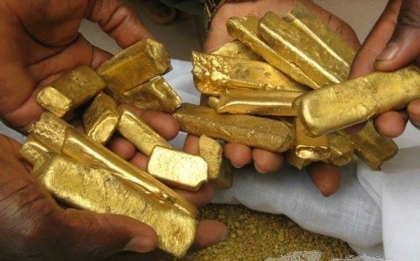 gold bar and dust available