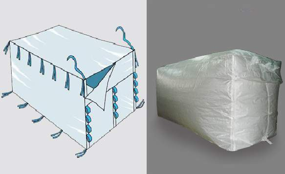 Container Liner Bag by FIBC bags exporters, container liner bag from Belgaum   ID - 3917078