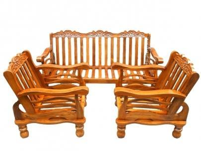 Wooden Sofa Set Manufacturer In Uttar Pradesh India By Dev Furniture
