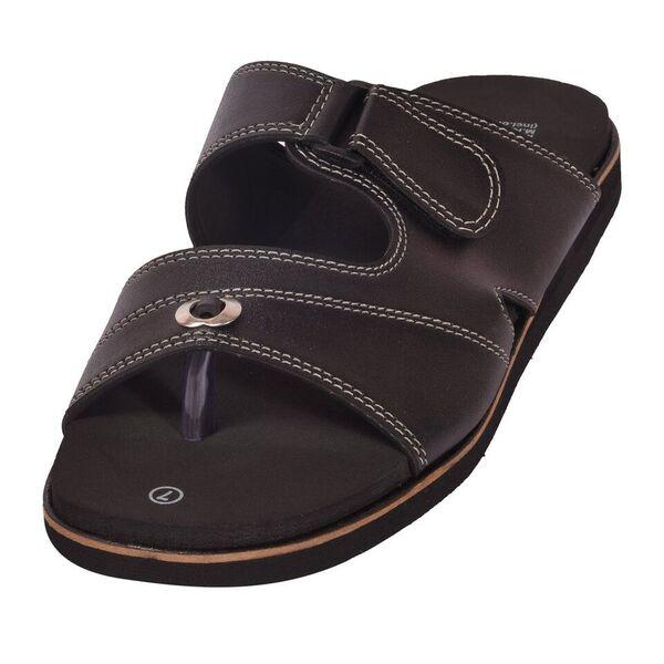935da3280 Mens Podo Fit Black Diabetic & Orthopedic MCP Sandal Wholesale ...