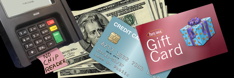 Credit Cards & Gift Cards