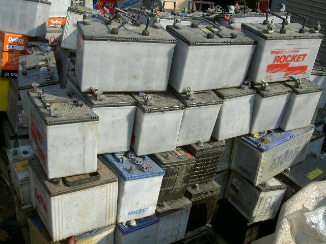Drained Lead/ Acid Battery Scrap