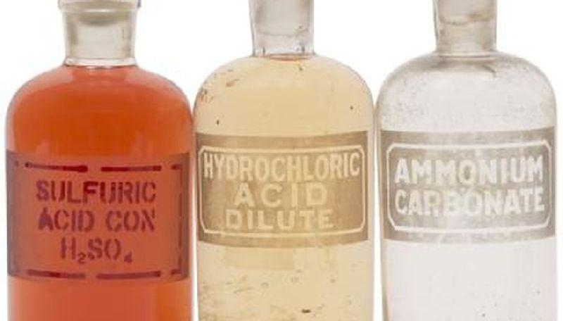 Industrial, Perchloric, Edta, Hydrochloric, Acetic, Oxalic Acids