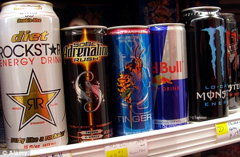 RED BULL,TIGER,BURN,DRAGON,MONSTER ENERGY DRINKS