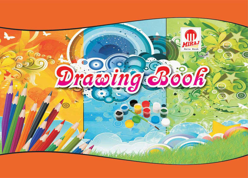 Book Cover Design Drawing : Buy drawing book from miraj multicolour pvt ltd surguja