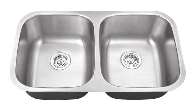 SS DOUBLE BOWL SINK