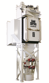 Camtain dust collector
