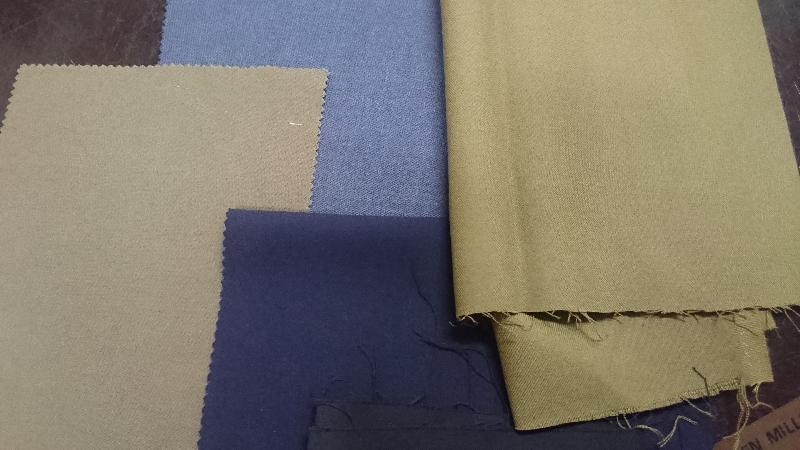 Serges Poly Wool Fabric