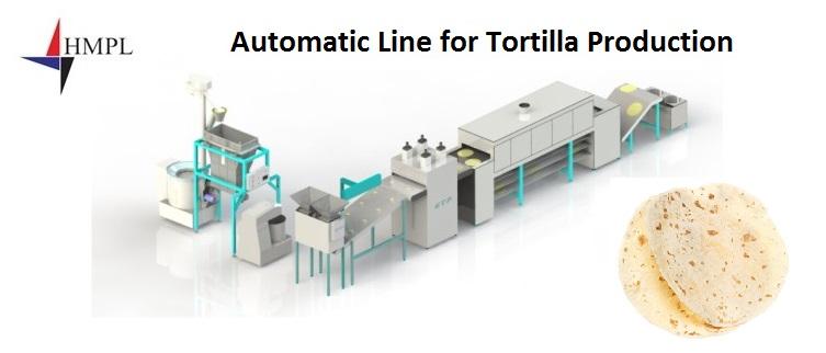 Tortilla Production Line