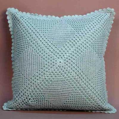 Crochet Cushion Cover (Crochet Cushion Cove)
