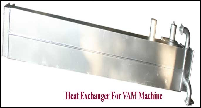 Heat Exchanger For VAM Machine