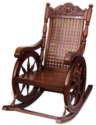 Superb Buy Wooden Rocking Chair From Indian Handicrafts Saharanpur Dailytribune Chair Design For Home Dailytribuneorg