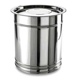 buy stainless steel grain storage containers from gopala exports