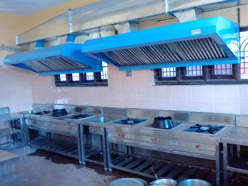 Services Hotel Kitchen Exhaust Ducting From Solapur Maharashtra